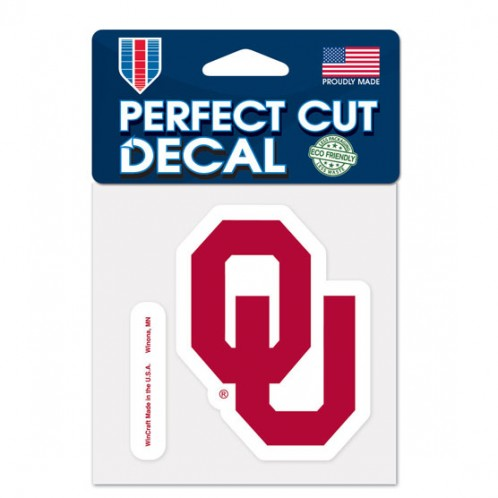 Oklahoma Sooners Perfect Cut Color  Decal