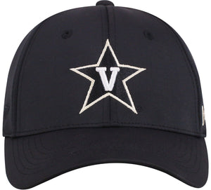 Vanderbilt Commodores Phenom 1Fit Flex Black Hat