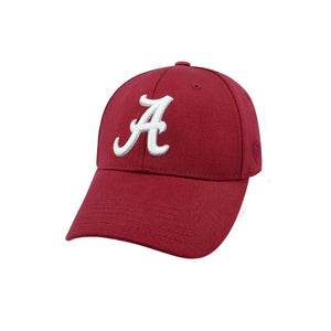 Alabama Crimson Tide One-Fit Cardinal Premium Collection Memory Hat