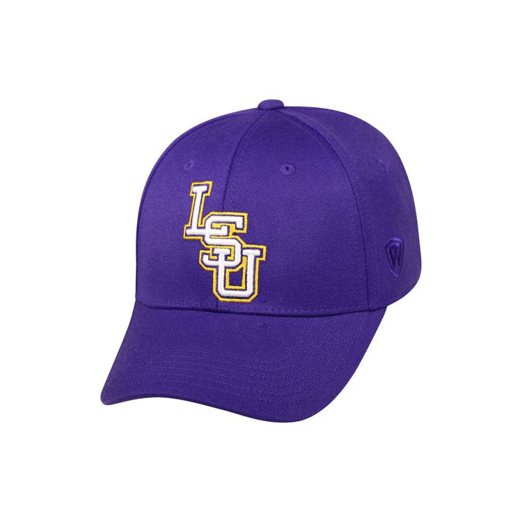 LOUISIANA ST ONE-FIT PURPLE PREMIUM COLLECTION MEMORY FIT