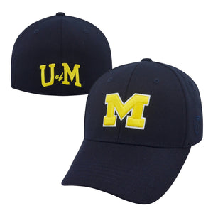 Michigan Wolverines Premium Collection Memory Fit Hat