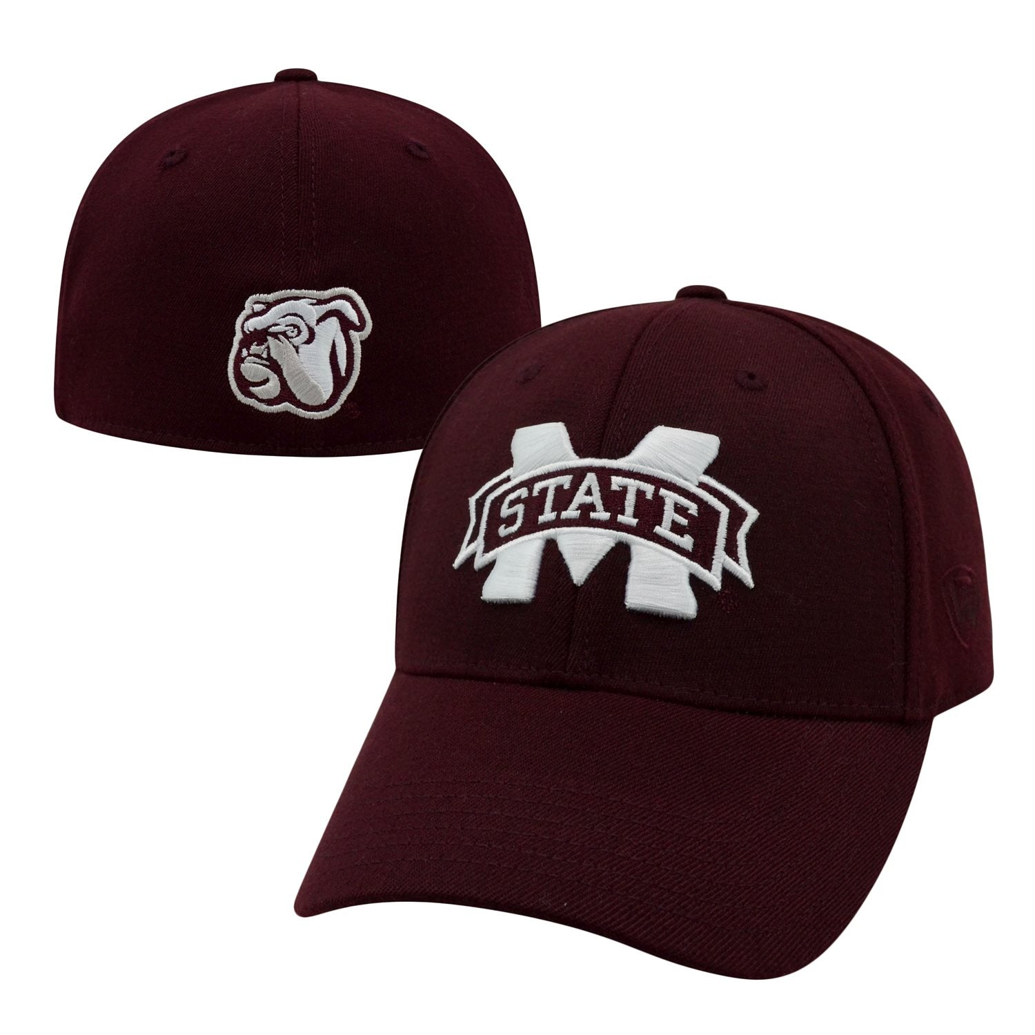 Mississippi State Bulldogs Maroon Premium Collection Memory Fit Hat