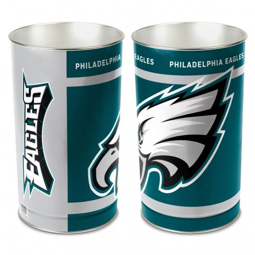 Philadelphia Eagles Trash Can