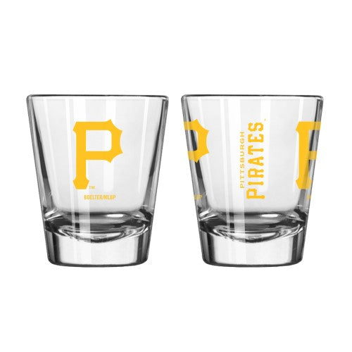 Pittsburgh Pirates Clear Shot Glass