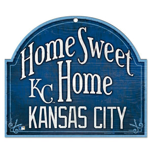 Kansas City Royals Home Sweet Home Arch Sign