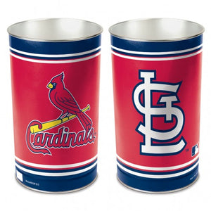 St. Louis Cardinals Trash Can