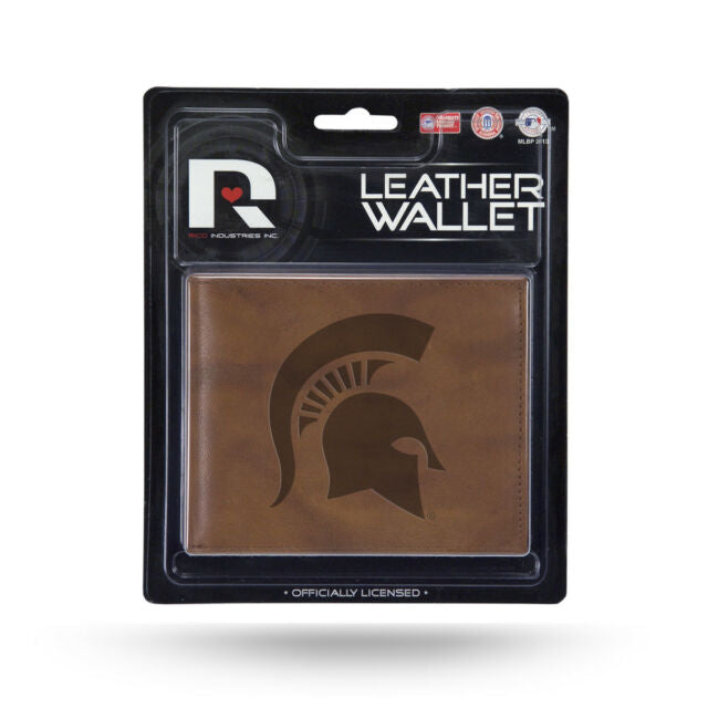 Michigan State Spartans Leather Wallet