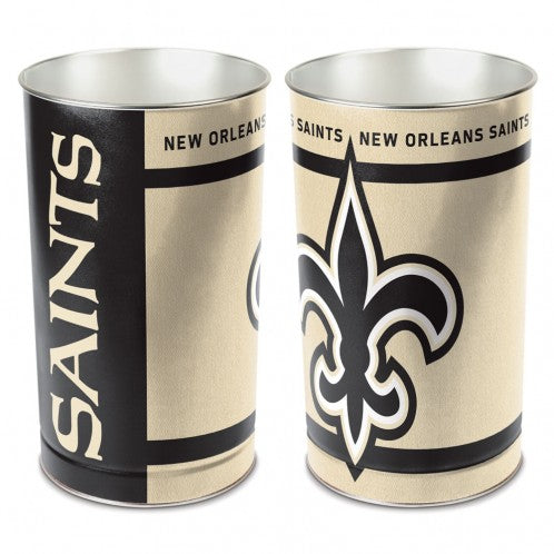 New Orleans Saints Trash Can