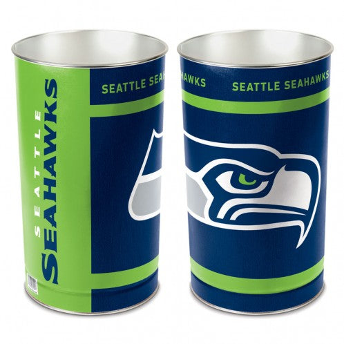 Seattle Seahawks Trash Can