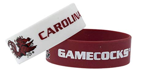 South Carolina Gamecocks 2 Pack Bracelets