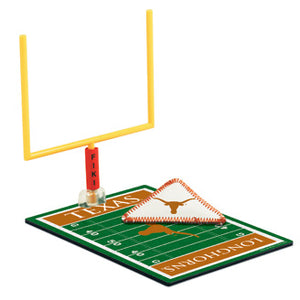 Texas Longhorns FIKI Football Set NEW Flick and Kick Football