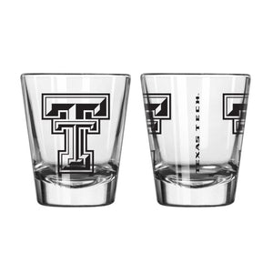 Texas Tech Red Raiders Clear Shot Glass