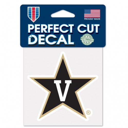 Vanderbilt Commodores Perfect Cut Color Decal