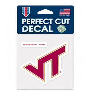 Virginia Tech Hokies Perfect Cut Color Decal