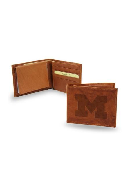 Michigan Wolverines Leather Wallet