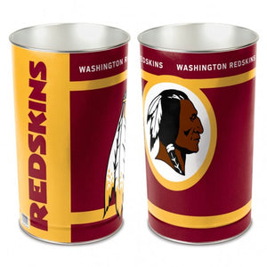 Washington Redskins Trash Can