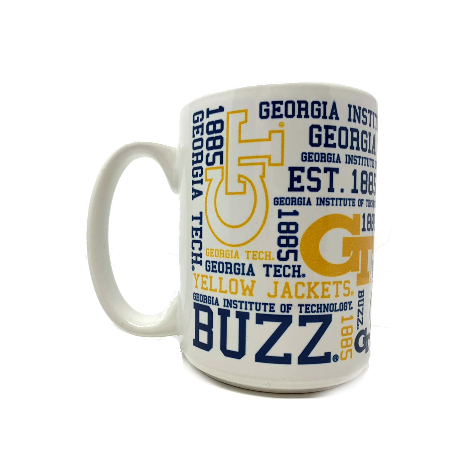 Georgia Tech Yellow Jackets Spirit Mug