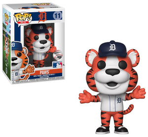 Funko Pop! MLB: Paws Mascot of the Detroit Tigers
