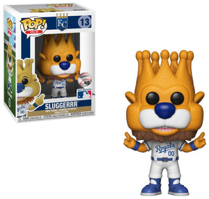 Major League Baseball Kansas City Royals Funko POP! MLB Sluggerrr Vinyl Figure Mascot
