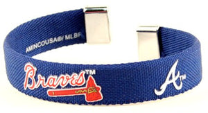 Atlanta Braves Ribbon Bracelet