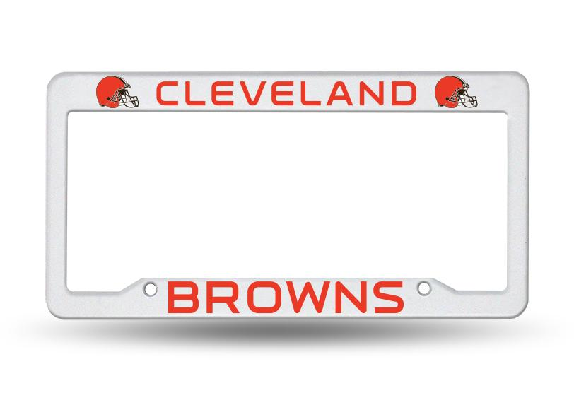 Cleveland Browns Plastic License Plate Frame