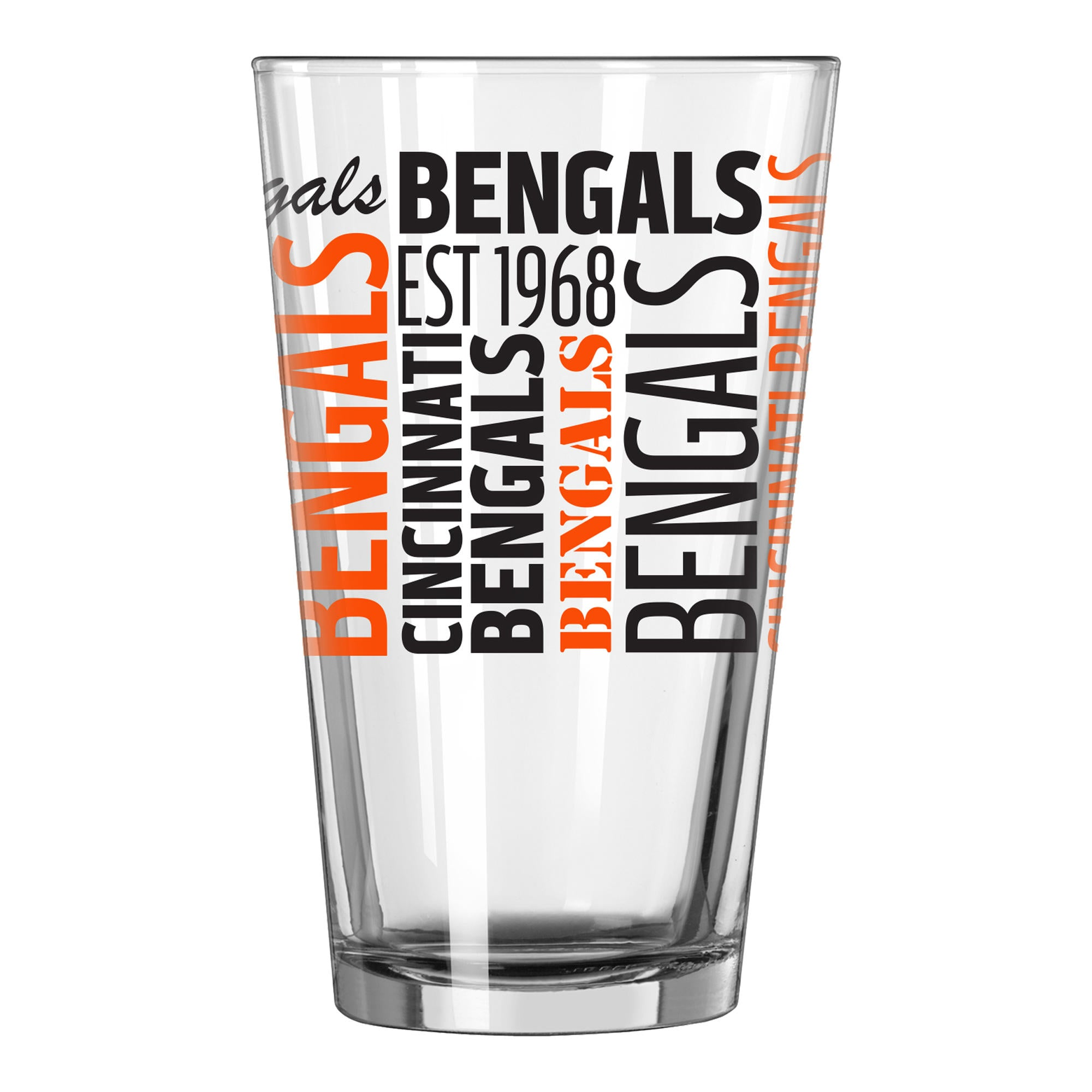 Cincinnati Bengals Pint Glass