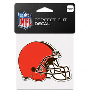 Cleveland Browns 4x4 Die Cut Decal