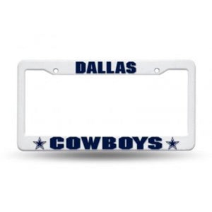 Dallas Cowboys Plastic License Plate Frame