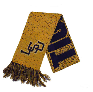 LSU Tigers Big Logo Knit Scarf