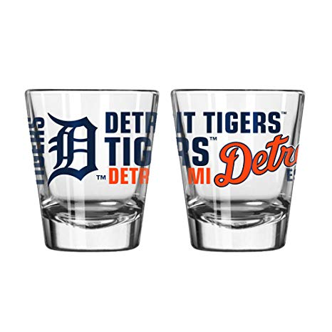 Detroit Tigers Spirit Shot Glass