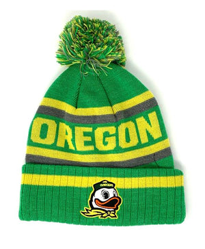 Oregon Ducks Tow Cuff Cuffed Knit Beanie