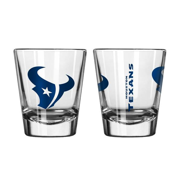 Houston Texans Clear Shot Glass