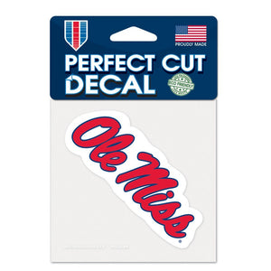 Ole Miss Rebels Decal