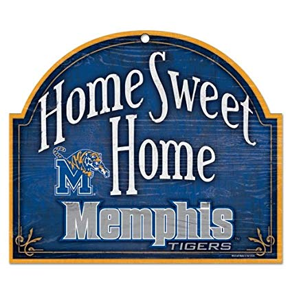 Memphis Tigers Home Sweet Home Arch Sign