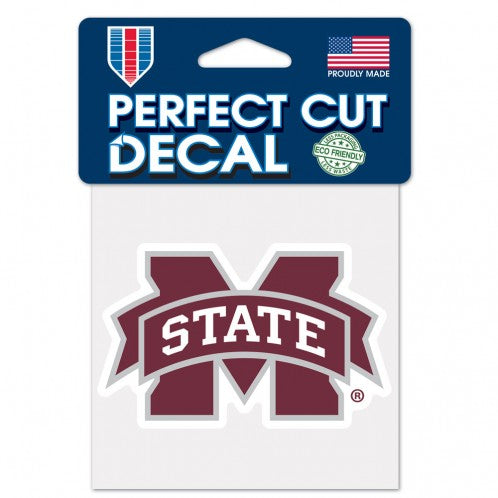 Mississippi State Bulldogs 4x4 Die Cut Decal