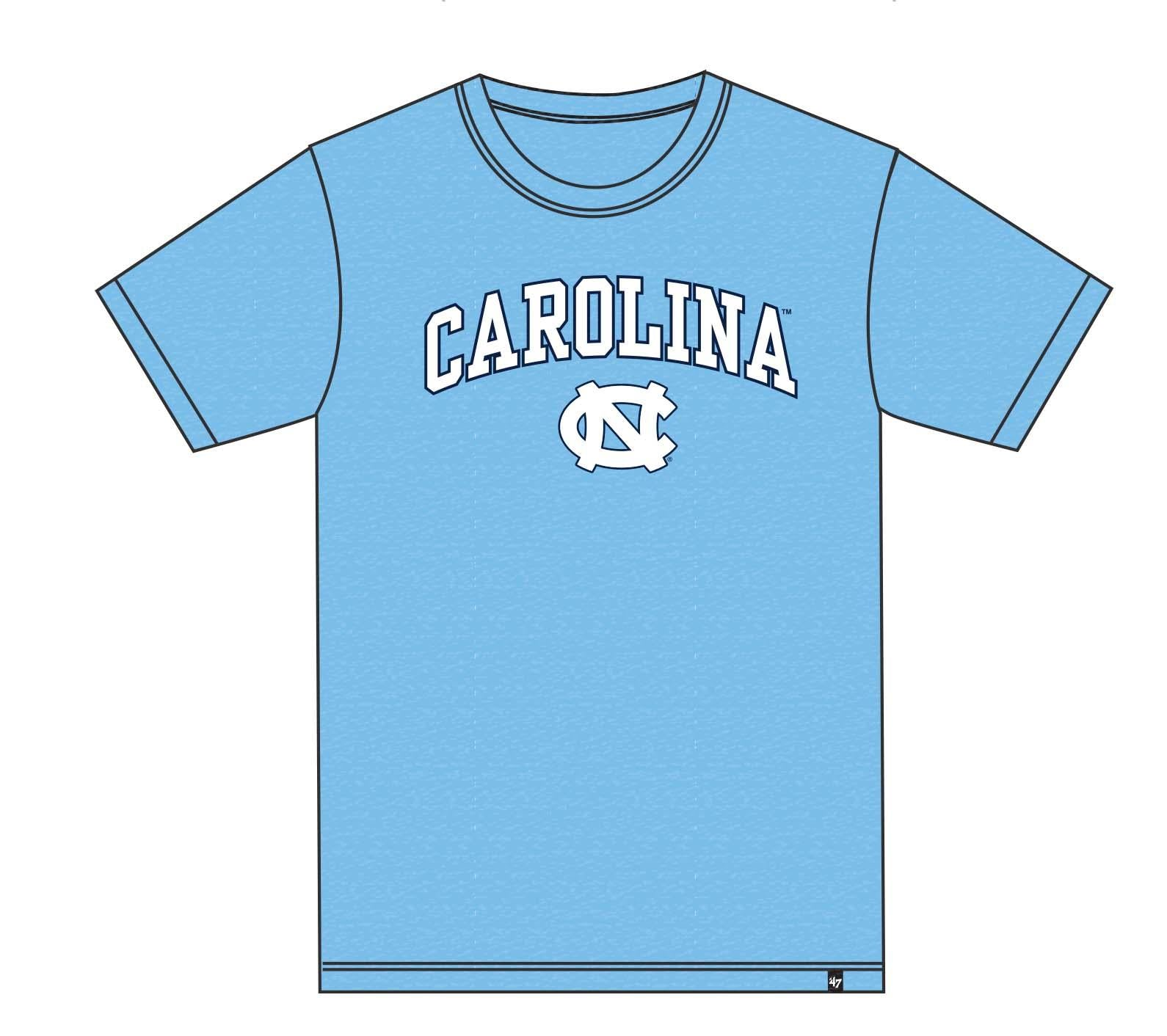 North Carolina Tar Heels Distressed T-Shirt