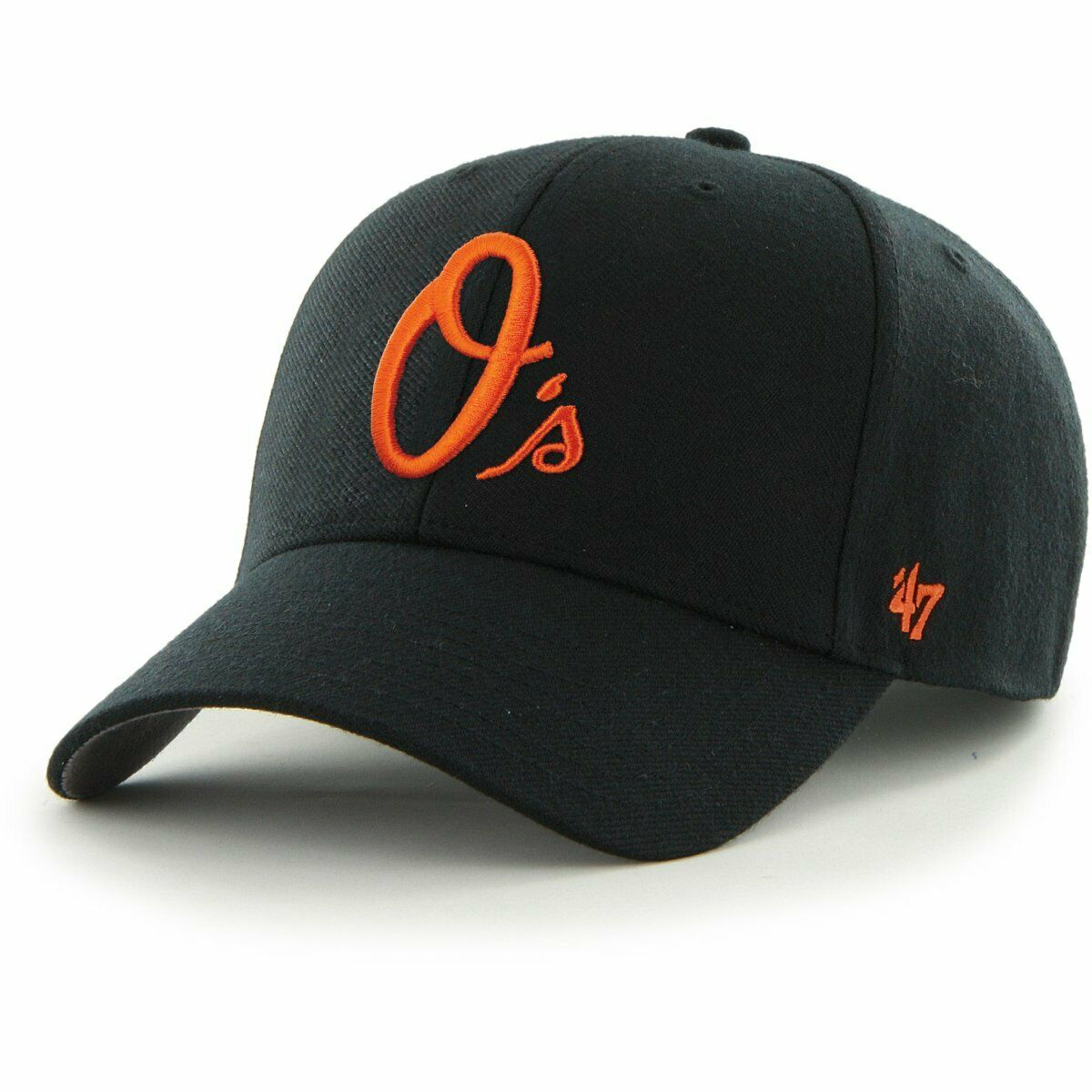 Baltimore Orioles Relaxed Fit Cap - MVP Black