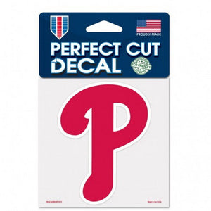 Philadelphia Phillies Decal 4x4 Perfect Cut Color