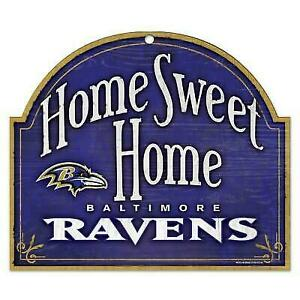 Baltimore Ravens Home Sweet Home Arch Sign