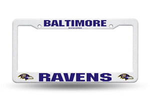Baltimore Ravens Plastic License Plate Frame