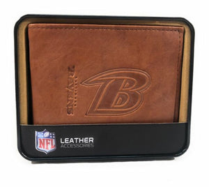 Baltimore Ravens Leather Wallet