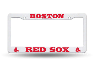 Boston Red Sox Plastic License Plate Frame