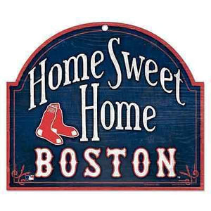 Boston Red Sox Home Sweet Home Arch Sign