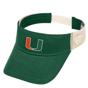 Miami Hurricanes Snapback Two Tone Sandstone Hat