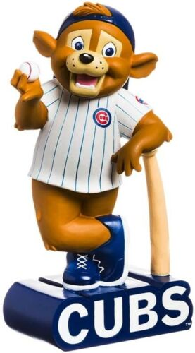 Chicago Cubs Team Mascot Statue Clark