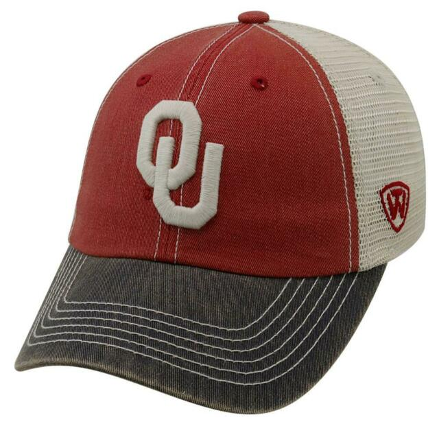 Oklahoma Sooners Offroad Three-Tone Hat