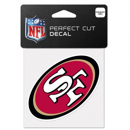 San Francisco 49ers Perfect Cut Color Decal