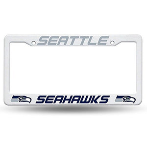 Seattle Seahawks Plastic License Plate Frame