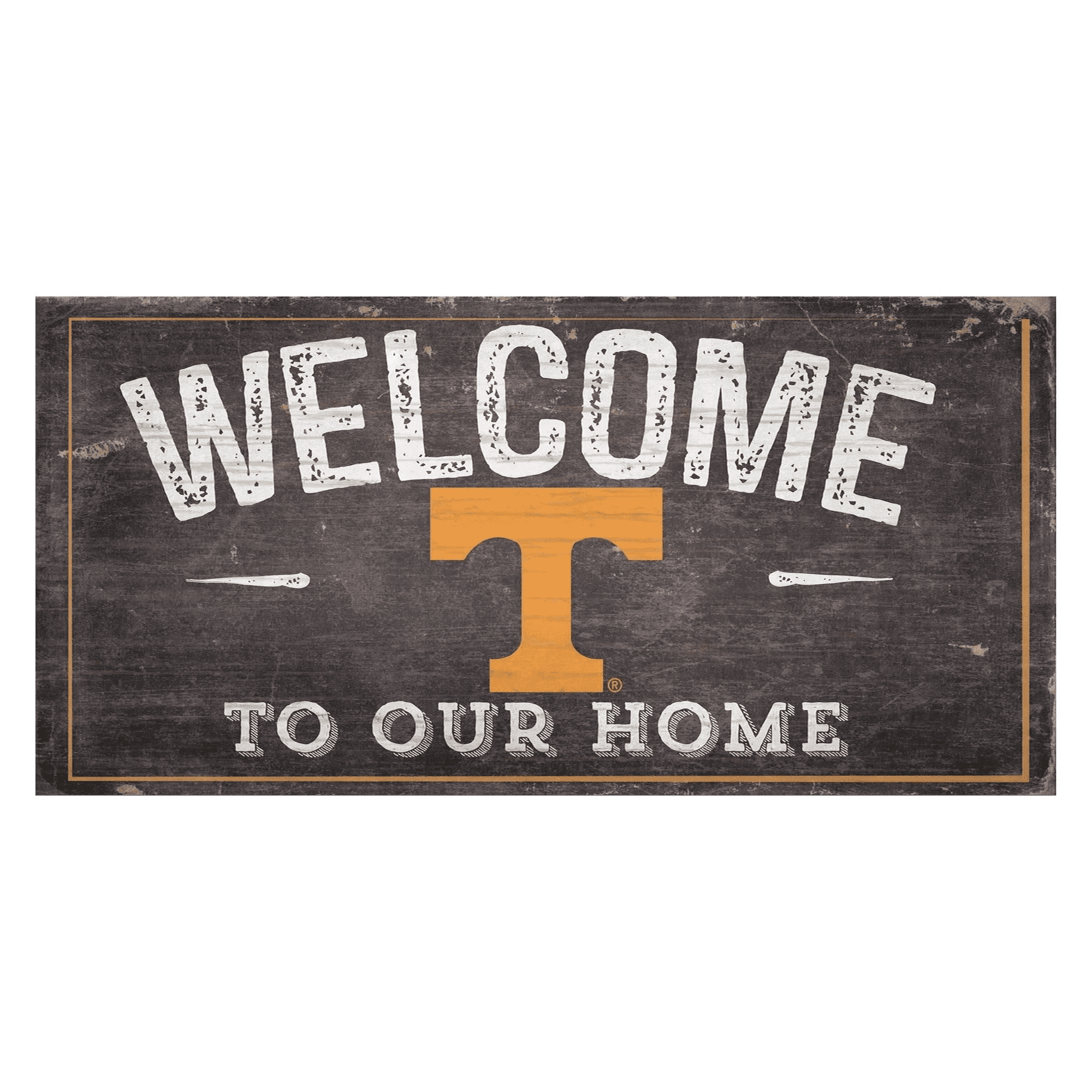 Tennessee Volunteers Welcome Distressed Sign