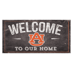 Auburn Tigers Welcome Distressed Sign